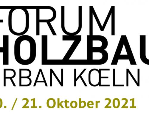 FORUM HOLZBAU 2021